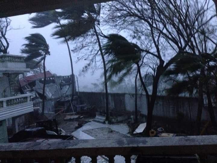 Reportan primeras afectaciones por azote de Matthew a Cuba