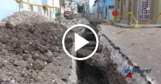 Calles rotas causan malestar entre los vecinos de la Habana