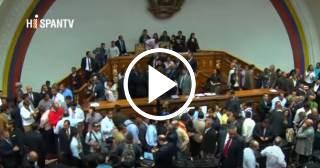 En Venezuela el Parlamento acusa a Nicolás Maduro de dar un golpe de Estado