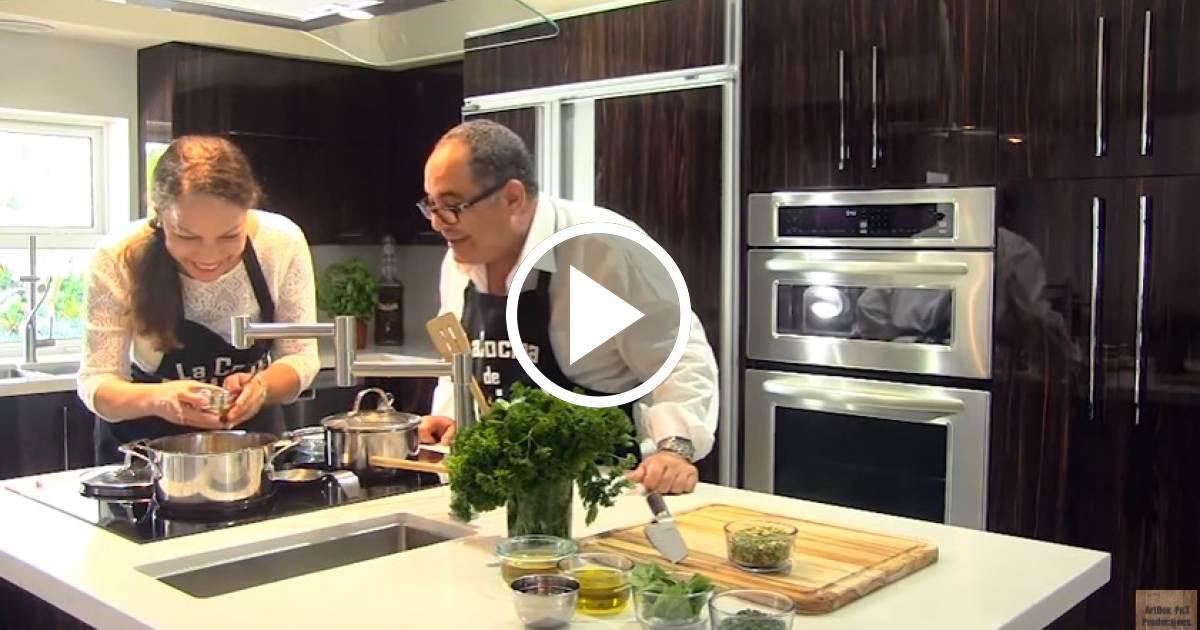 La cocina de pujol invitada luisa mar a jim nez v deo en cibercuba - La cocina de maria luisa ...