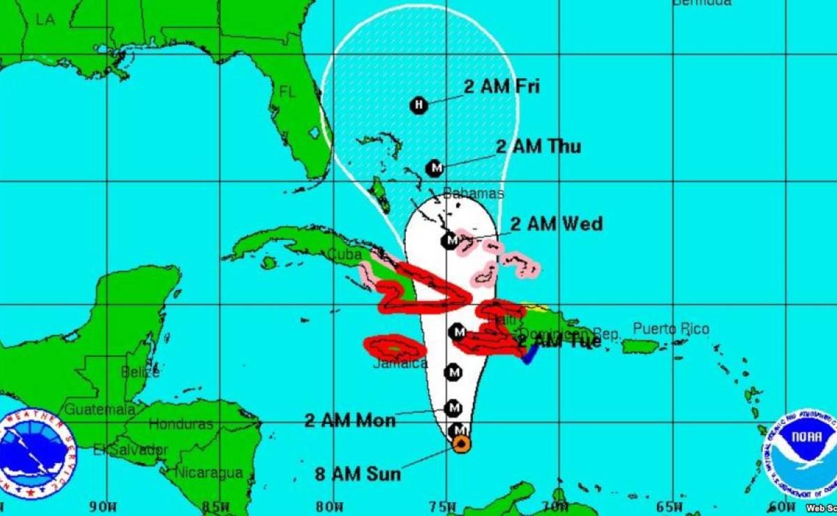Matthew llegará a tierra cubana este lunes