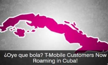 T-Mobile anuncia tarifas de roaming en Cuba