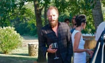 El cantante Sting en sus viñedos