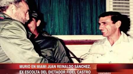 Muere ex escolta de Fidel Castro Reinaldo Sánchez tras publicar su libro