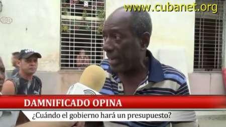 Damnificados por las inundaciones en La Habana se quejan por indolencia de las autoridades