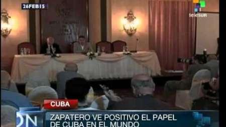 Zapatero daría su testimonio para sacar a Cuba de la lista de patrocinadores del terrorismo
