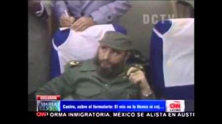 Fidel Castro indignado en su llegada a Nueva York (1960)