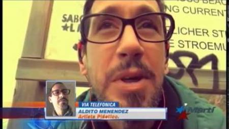 Artista cubano residente en España regresa a Cuba desafiando al gobierno