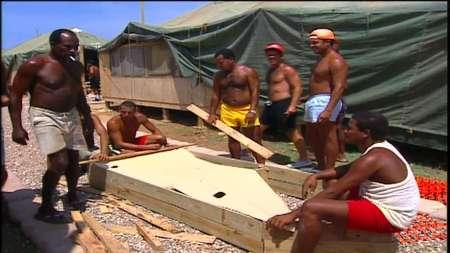 Balseros Cubanos en Guantánamo 1994