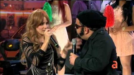 Shakira y Carlos Varela en El Happy Hour
