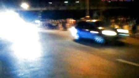 Carreras ilegales de carros y motos en La Habana