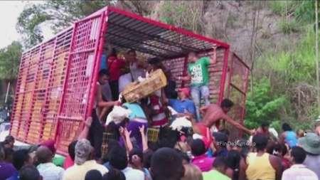 Escasez de alimentos genera tensión y saqueos en Venezuela