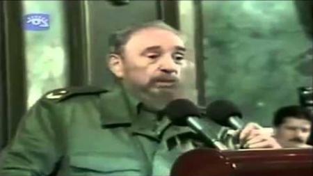 """Fidel Castro refiriéndose a EEUU: """"Y creen los muy idiotas que van a volver aquí a salvarnos"""""""