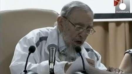 Primera aparición pública de Fidel Castro en los últimos 3 meses