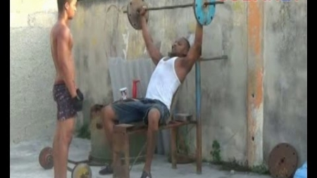 """Un gimnasio """"Made in Cuba"""""""