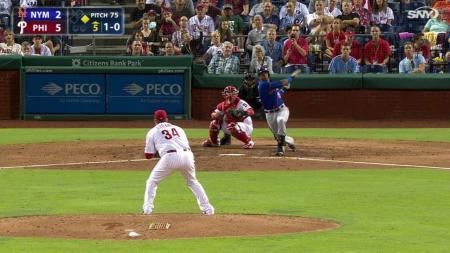 Octavo jonrón de Yoenis Céspedes con los Mets