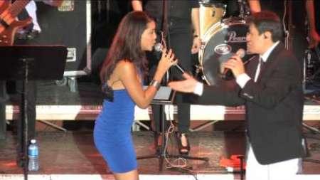 Laritza Bacallao y Alvaro Torres cantan juntos en Varadero