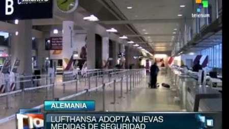 Adopta Lufthansa nuevas medidas de seguridad tras catástrofe del A320