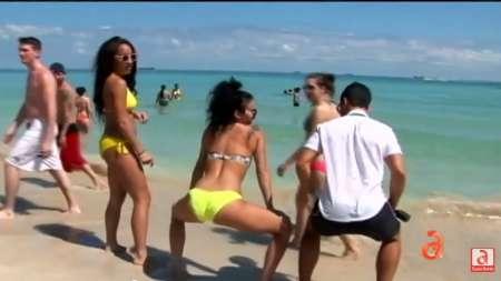 Así se vive el Spring Break en las playas de Miami