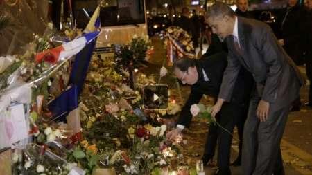 Obama rinde  homenaje a las víctimas en Bataclan