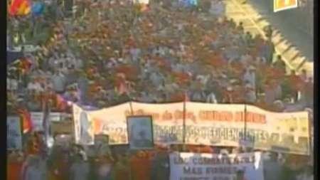 Preparativos en Cuba para desfilar este Primero de Mayo