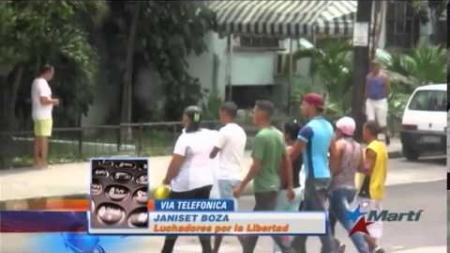 Arrestan a manifestantes que protestaron en La Habana el 26 de Julio