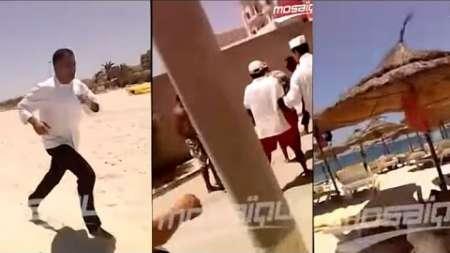Turista graba el momento del atentado terrorista en Túnez