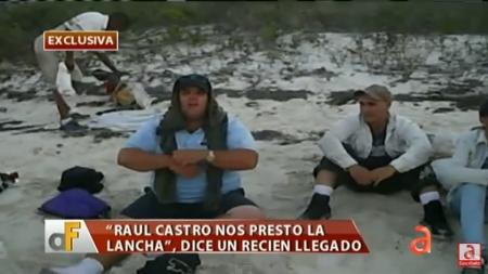 Vídeo exclusivo de cubanos que grabaron su travesía hacia EEUU