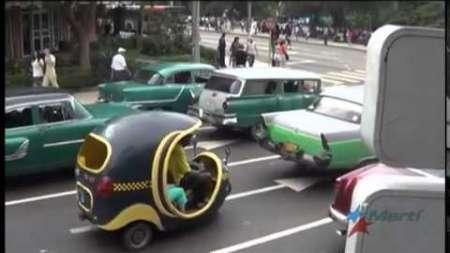"""Emprendedores en Cuba crean versión de empresa de transporte """"el UBER cubano"""""""