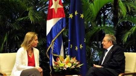Alta Representante de la Unión Europea habla sobre convenio entre la EU y Cuba